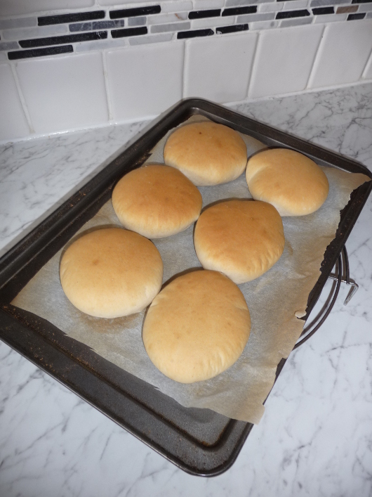 Home-made Hamburger Rolls