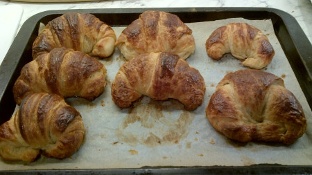 Home Made Croissants Recipe - How I got on