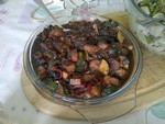 Vegetable Stir-Fry with Black Bean Sauce