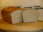 Baking a 2lb Home-made Bread Loaf Video - Sliced Loaf