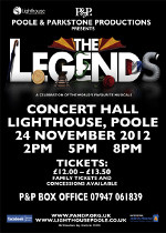 "P&P Productions Proudly Present - ""The Legends"""