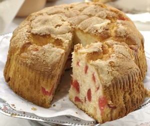 Buy Farmhouse Cherry Cake, Dorset Bakers