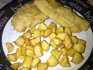 Home Made Fish & Chips, Just Like the Chippy