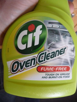 CIF oven cleaner - works well