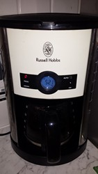 Descaling coffee machine, a Russell Hobbs